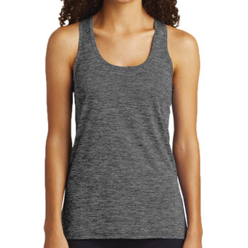 Ladies PosiCharge ® Electric Heather Racerback Tank Thumbnail